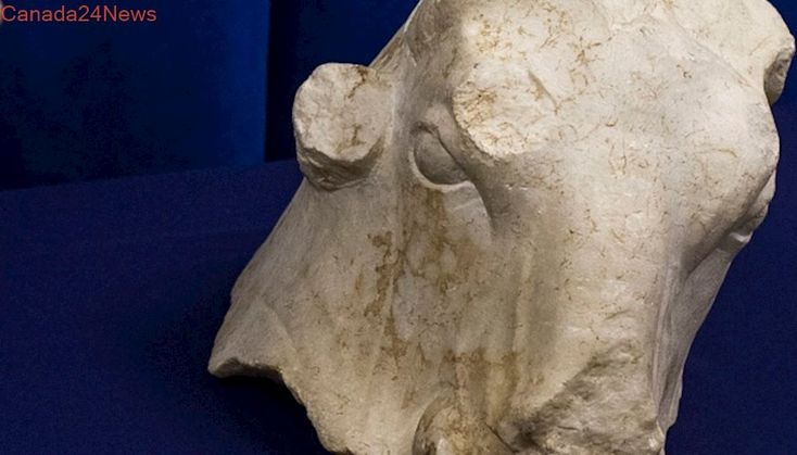 Stolen ancient sculptures found in New York, returned to Lebanon