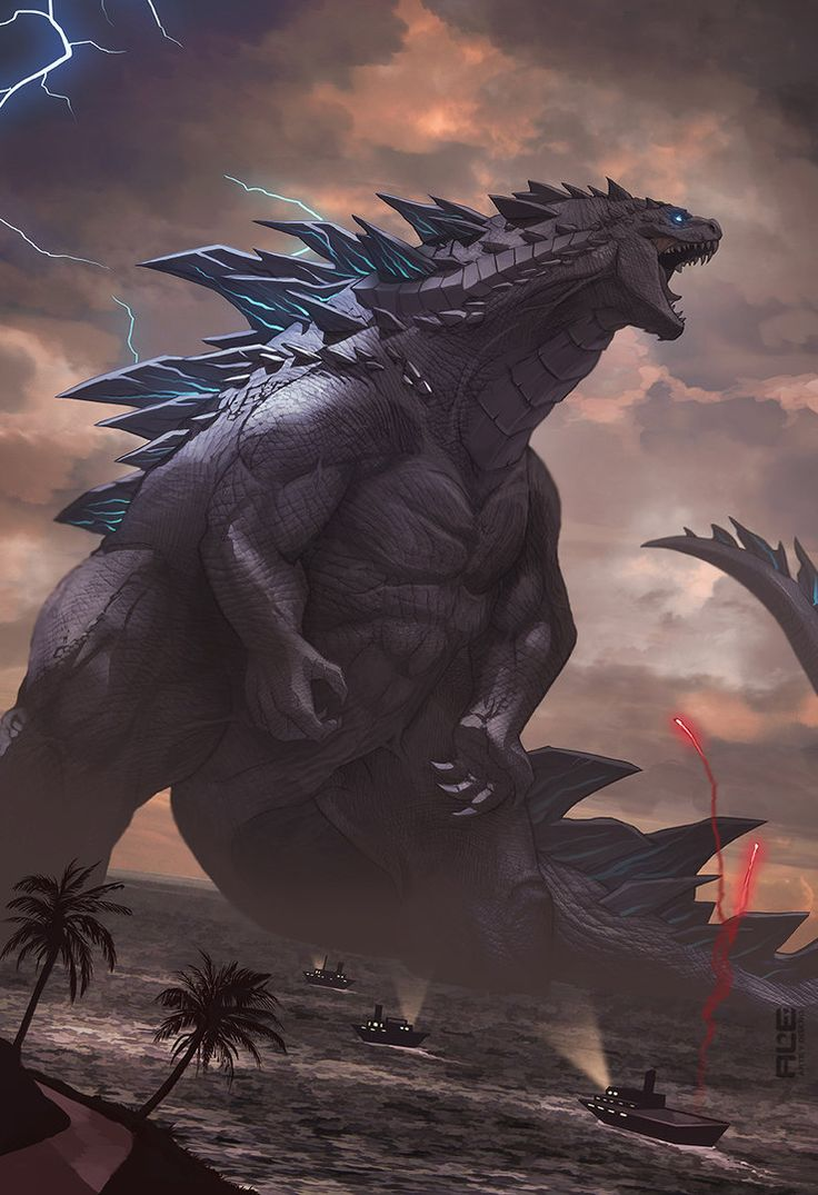 Godzilla by DanteFitts on DeviantArt