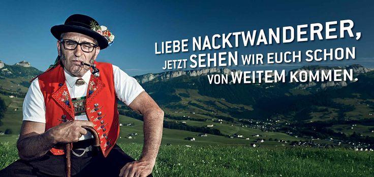 Werbung Nacktwanderer Engel Optik Simona Köppel