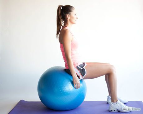 use an exercise ball for beginners  ball exercises