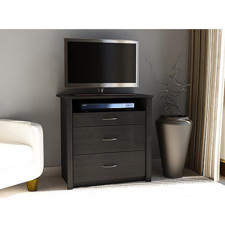 "Mainstays Media Dresser for TVs up to 32"", Multiple Colors"