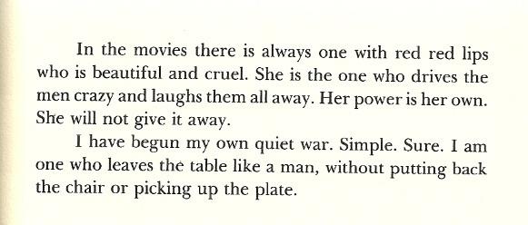 Wisdom from Sandra Cisneros.