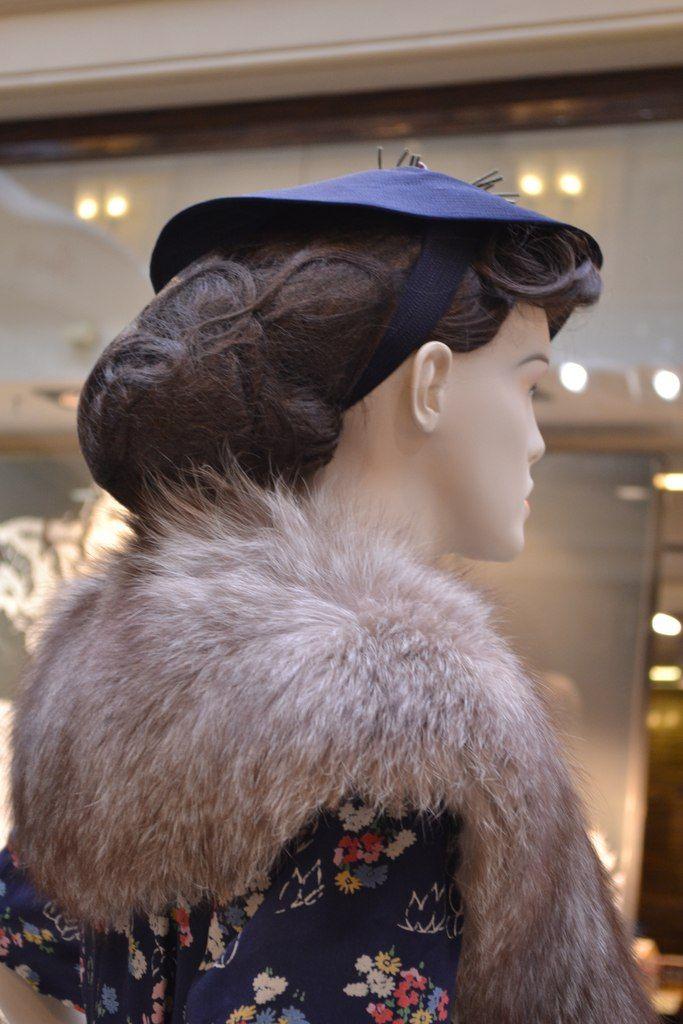 1940е сетки для волос