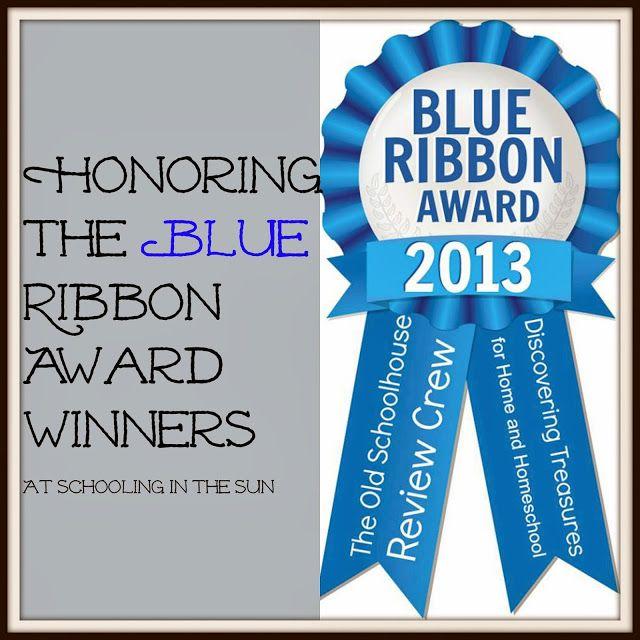 Schooling in the Sun--Blue Ribbon Award Winners