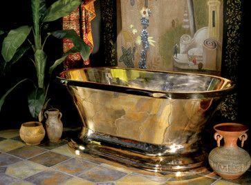 Solid Bronze / Bronze Finish Items eclectic bathtubs