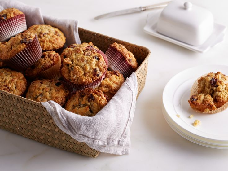 Get this all-star, easy-to-follow Cranberry Harvest Muffins recipe from Ina Garten. At least they look good. @spaghettiang