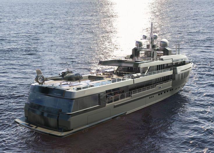 Maverick 55 Expedition Yacht