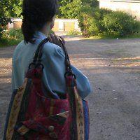 Orientální, velká taška