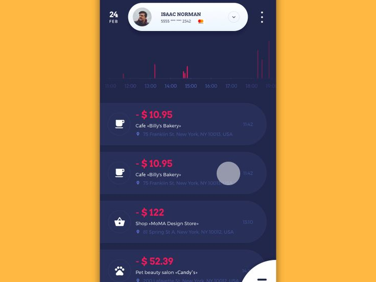 Home Budget Feed Animation by tubik