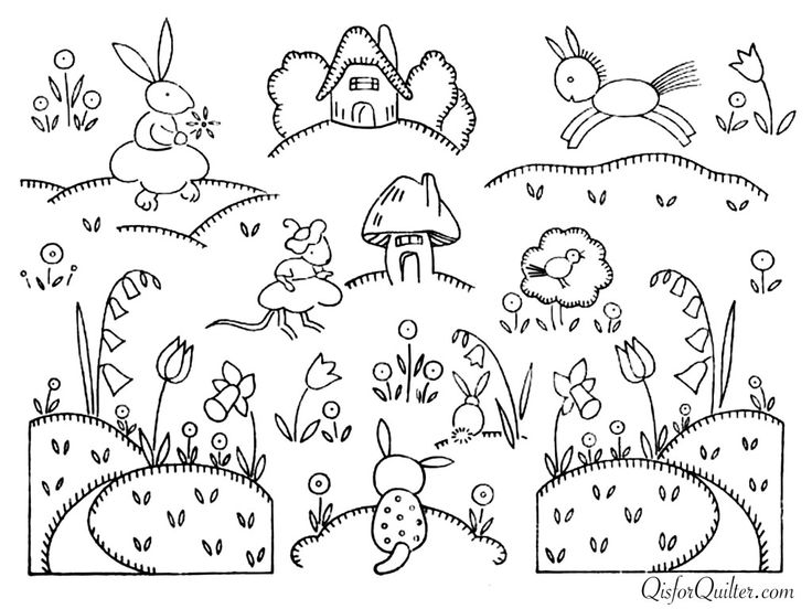2507 Best Embroidery Patterns Designs And Applique Templates For