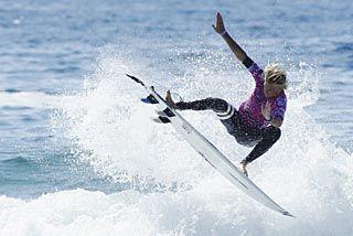 Teenage wild card Kai Hing takes on surfing's elite