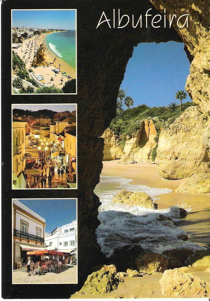Albufeira, Algarve, Portugal.