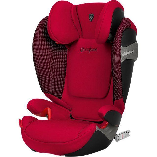 Auto Kindersitz Solution S Fix Scuderia Ferrari Racing Red Kinder Autositz Kinder Autos Und Kindersitz