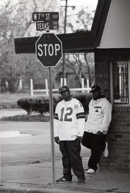 Pimp C and Bun B lampin in Port Arthur, TX around the time of their sophomoric album 'Super Tight.' (Photo taken c.1994)
