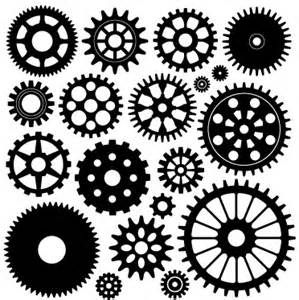 Color Book Clip Art Gears Cogs - Yahoo Image Search Results