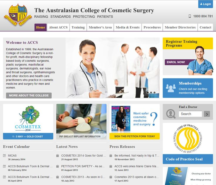 Prestigious #medical #society #website catering to high profile #cosmetic #surgeons throughout #Australia and the Australasian region. This #user-friendly and very #dynamic #website has many automated back-end processes to ensure data is current, secure and that members are contacted regularly.