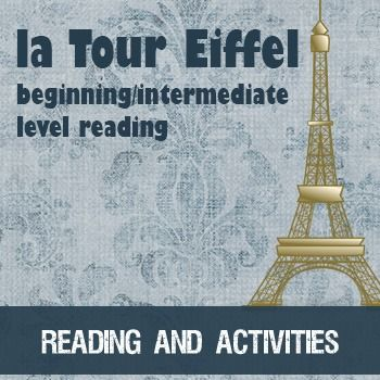 Reading/activities for beginning/intermediate French students - simple vocabulary, grammar mostly in the present tense with a sprinkling of passé composé.