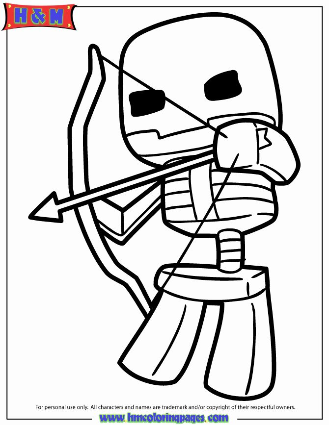 32 Bow And Arrow Coloring Page In 2020 Minecraft Coloring Pages Coloring Pages Candy Coloring Pages