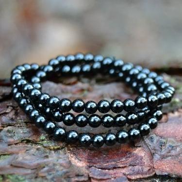 Náhrdelník turmalín skoryl, kuličky 4 mm, gumička - Bombastus.cz - široká nabídka produktů pro vaše zdraví, životní harmonii a duchovní rozvoj.