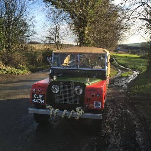 Used Land Rovers For Sale: Land Rover Series 1 80 Inch 1953 For Sale