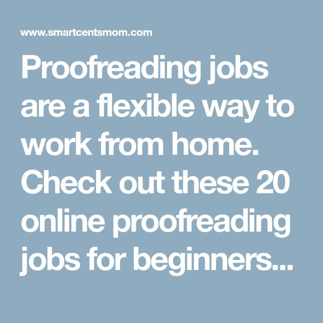online proofreading jobs Google docs - many online proofreading jobs are done via google docs which allows for a markup procedure and adding comments to an original document documents can also be shared easily online.