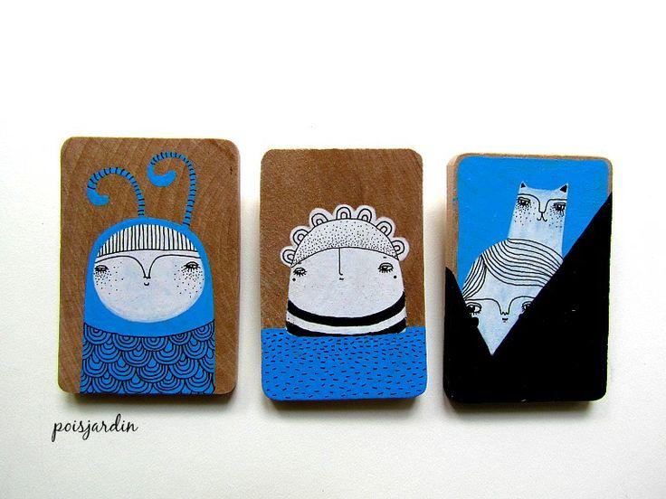 My handmade brooches.