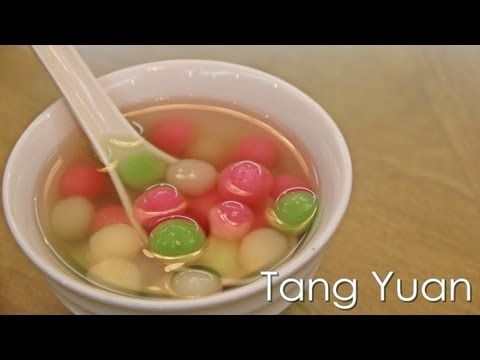 Tang Yuan (汤圆) Glutinous Rice Ball - DongZhi Festival - Recipe by ZaTaYa...