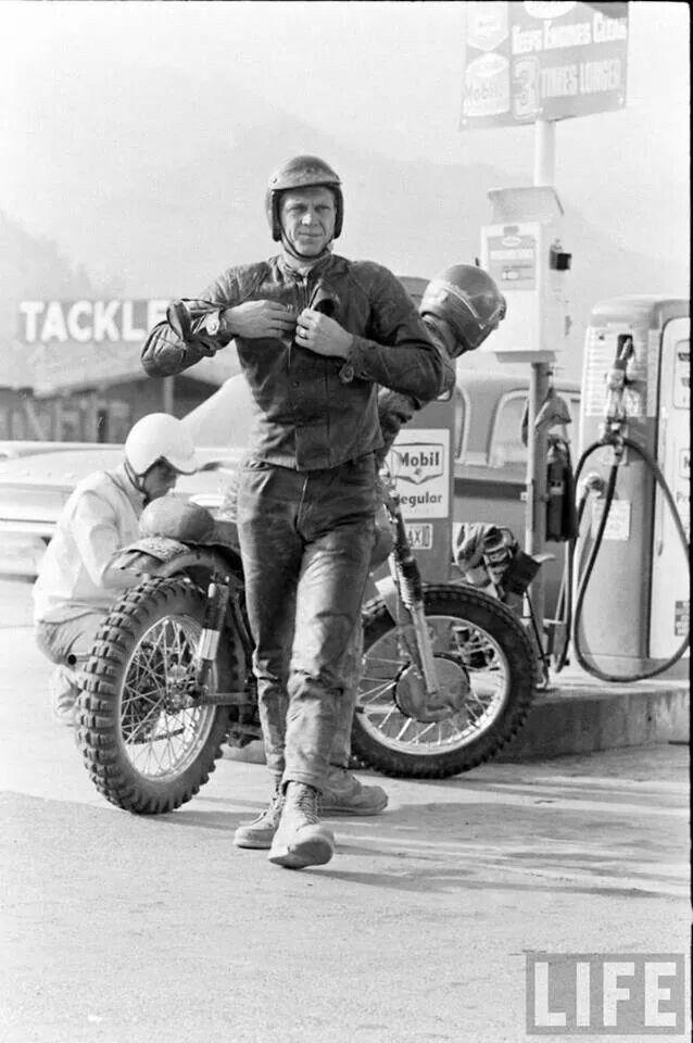 Best 20 Steve Mcqueen Motorcycle Ideas On Pinterest