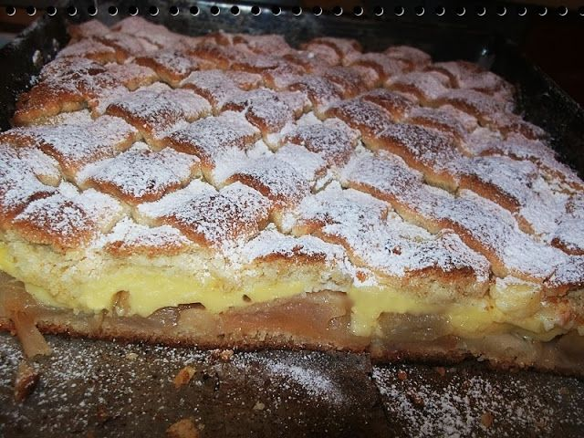 dian@'s cakes: Prajitura frageda cu mere si budinca