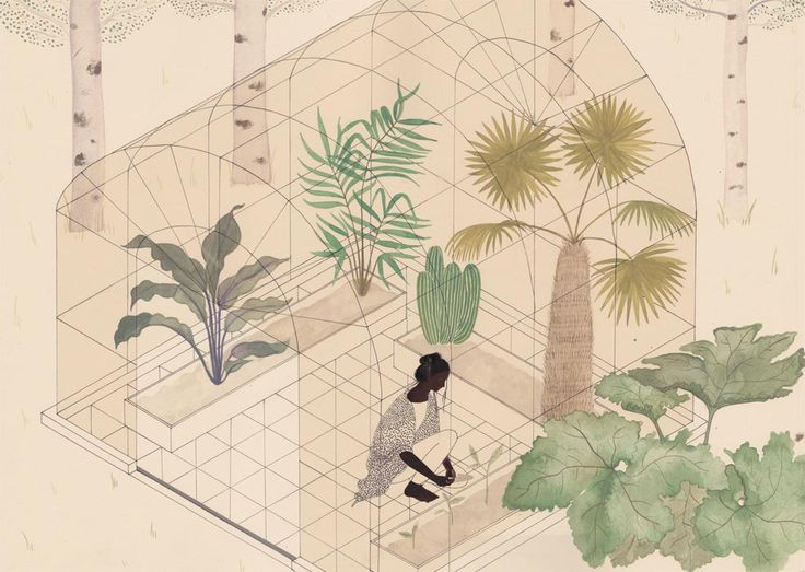 Axonometric Views by Harriet Lee-Merrion