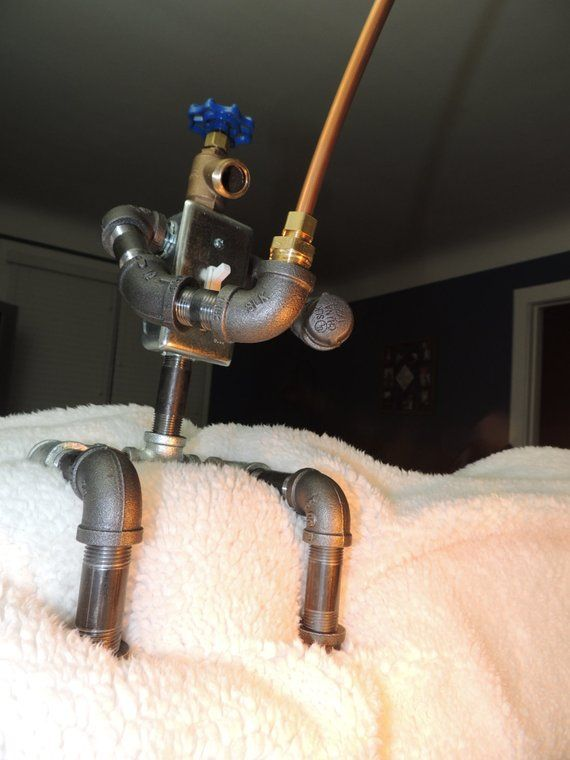 Fishing Robot Pipe Lamp Creativo Pinterest Rohr Lampen Rohre