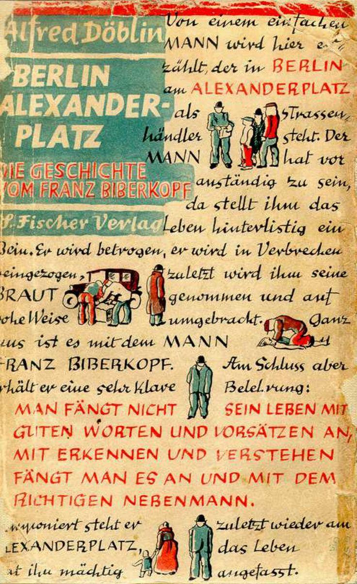"Alfred Doeblin ""Berlin-Alexanderplatz"" 1929"