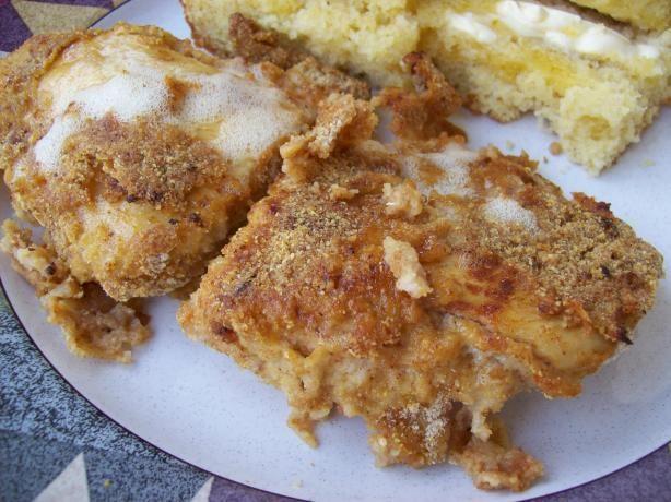 Southwestern Oven Fried Chicken