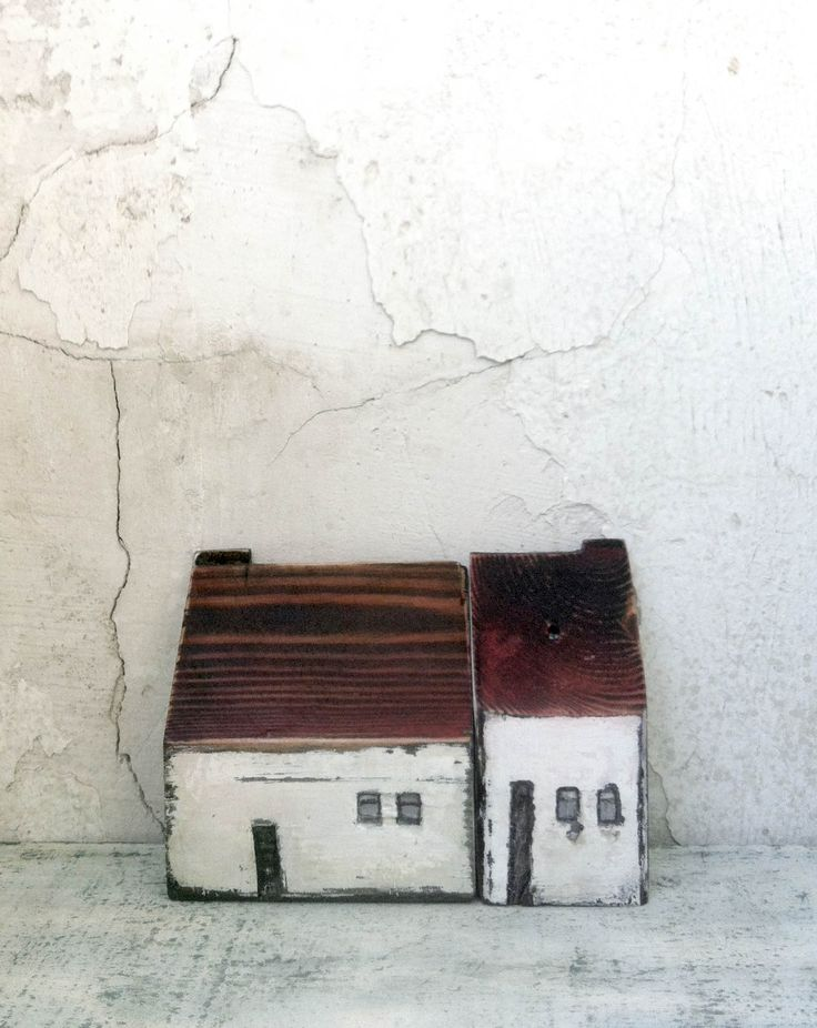 miniature ceramic and wooden houses home decor handmade unique gift christmas gift - Unique House Gifts