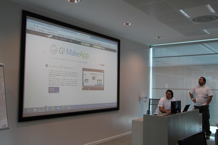 Homepage del software G! MakeApp by GAROO!