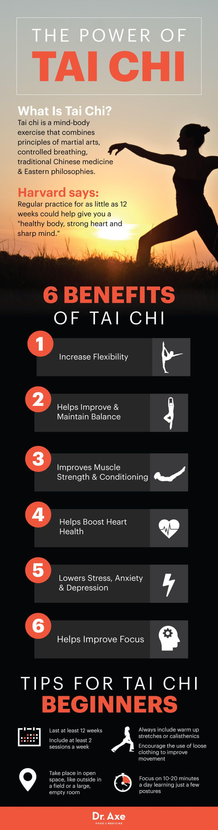 tai chi moves - dr. axe http://www.draxe.com #health #holistic #natural                                                                                                                                                                                 Más