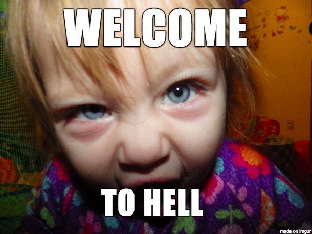 Awesome evil baby meme - Meme on Imgur via Relatably.com