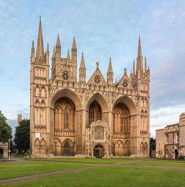 Peterborough Cathedral.....the resting place of Catherine of Aragon
