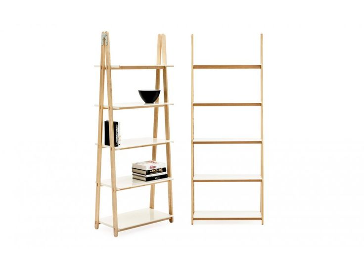 Regał One Step Up Wysoki — Regały Normann Copenhagen — sfmeble.pl  #scandinavian  #style  #interior  #homedesign #furniture