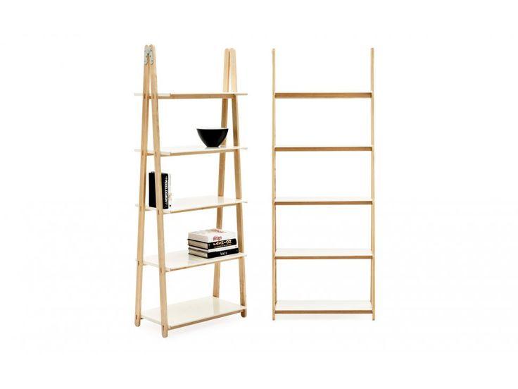 Regał One Step Up Wysoki — Regały Normann Copenhagen — sfmeble.pl  #scandinavian  #style  #interior  #homedesign #furniture