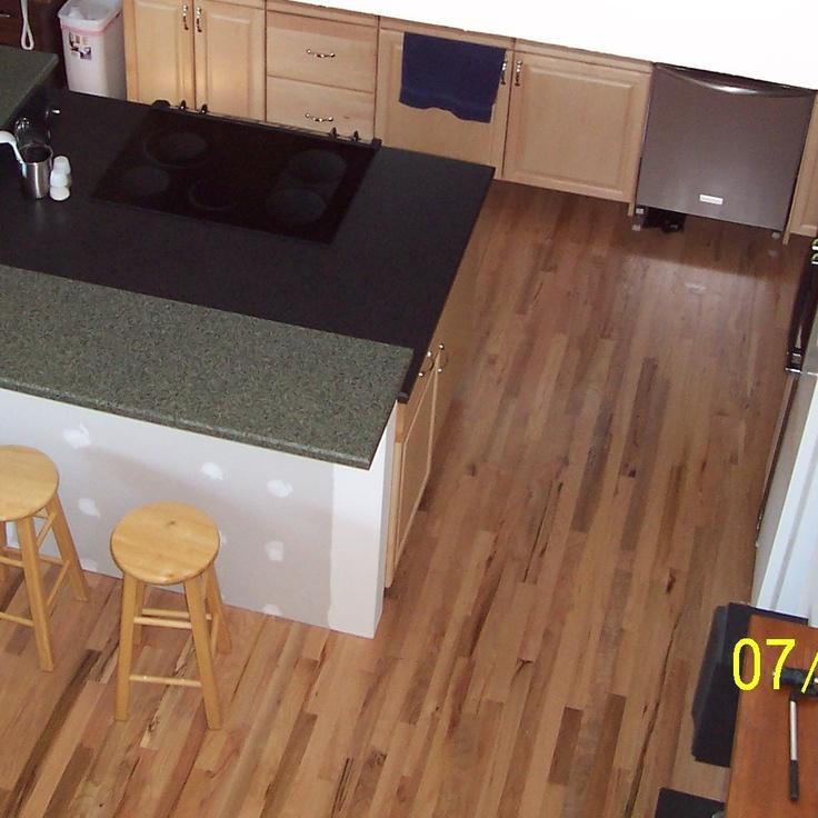 Red Floor Tiles Kitchen: I Miss My Hardwood Floors! This Is The Kitchen Floor In