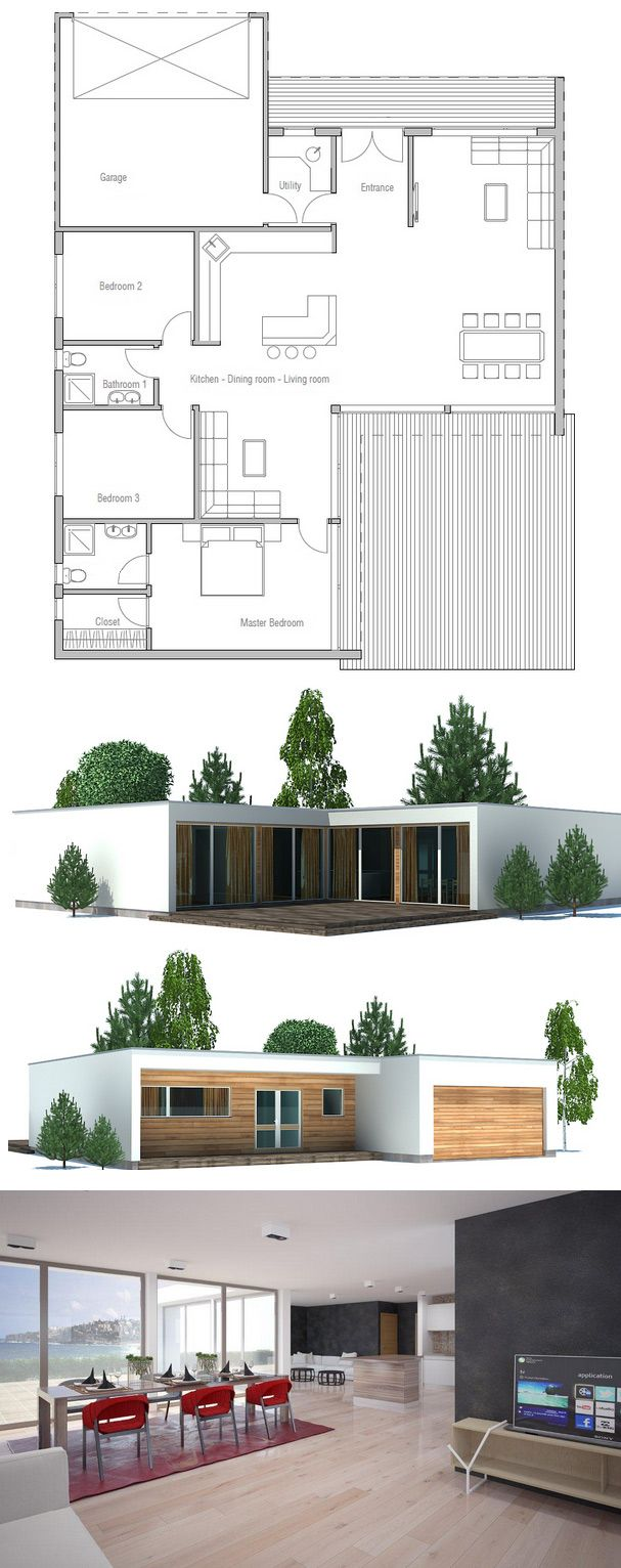 As always, I'd make a few adjustments, but a cool flow and plan overall. Planta de casa.
