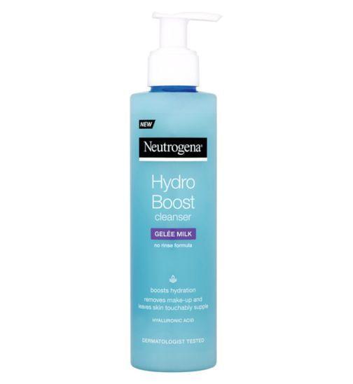 Neutrogena Hydro Boost® Gelée Milk Cleanser - Boots
