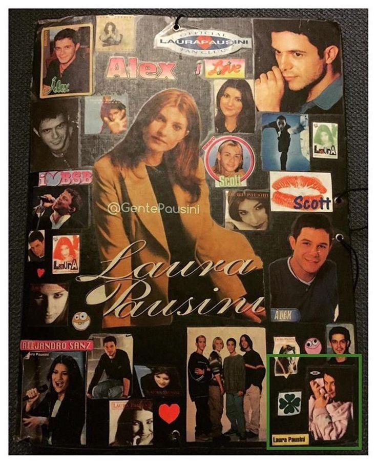 regram @gentepausini Allá por el 1998 con 14 añitos hice esta carpeta de @alejandrosanz y @laurapausini a los que adoraba ya entonces. Ese mismo año fui a mi primer concierto de Alejandro. Hoy me quedo sin verlos en el super concierto #MasEsMas aunque seguro que será histórico.  #AlejandroSanz #másesmás #Calderon #VicenteCalderon #Madrid #Musica #Concierto