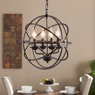 Shop for Harper Blvd Orlen 4-Light Fixed Globe Pendant Lamp. Get free shipping at Overstock.com - Your Online Home Decor Outlet Store! Get 5% in rewards with Club O!