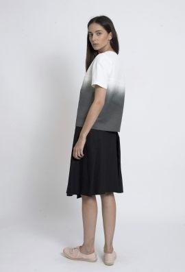 Ombre print blouse