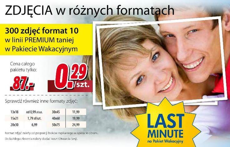 Pamiętacie jeszcze te czasy, kiedy zdjęcia były wywoływane z kliszy? Fotojoker trzyma się tradycji, proponując też najnowsze smartfony... http://www.promocyjni.pl/gazetki/10794-najlepsze-ceny--gazetka-promocyjna