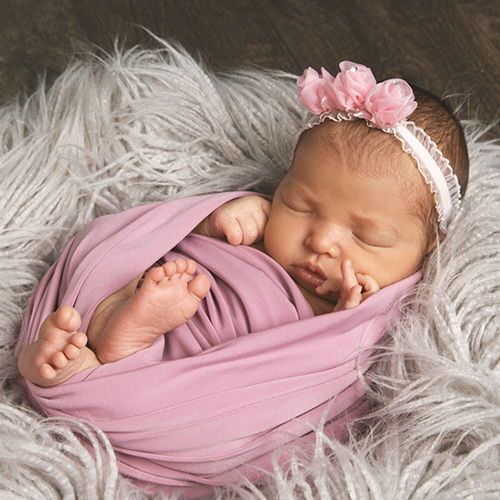 Newborn photography idea wrapped in love recreate this simple and sweet baby photo with help from jcpenney portraits ask your photographer about new