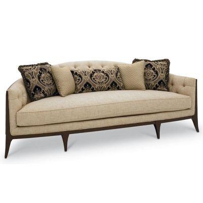 Maxine Rounded Stationary Sofa By Schnadig   Hamilton Park Interiors   Sofa  Salt Lake City