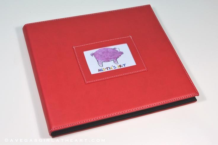 Children's Art Scrapbook/Project Life Mini Album
